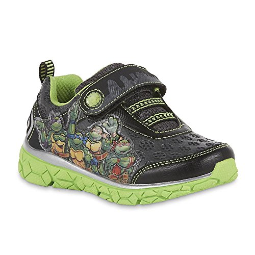 Nickelodeon Toddler Boys Teenage Mutant Ninja Turtles Light-Up Sneaker (13 M US Toddler/Youth)