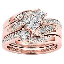 Womens Fashion Diamond Wedding Ring, Cne...