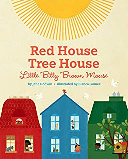 Book Cover: Red House, Tree House, Little Bitty Brown Mouse