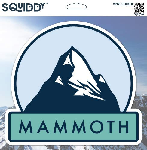 Squiddy Mammoth - Vinyl Sticker for Car, Laptop, Notebook (5