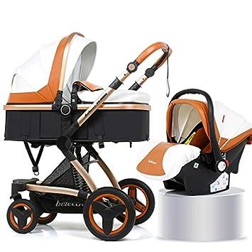 Amazon.com: Silla de coche para bebé 3 en 1, de poliuretano ...