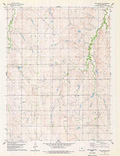 Twin Mound KS topo map, 1:24000 scale, 7.5 X 7.5 Minute, Historical, 1978, updated 1979, 26.8 x 20.9 IN - - Ks Kansas The City Legends