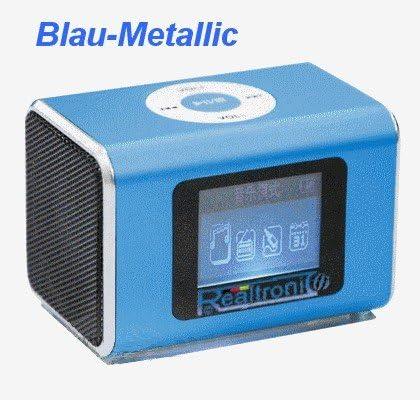 Caja RC-XKD2 con estación de sonido MP3 reproductor FM-radio mini ...
