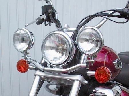 Fehling: ライトバー 後付ヘッドライト用 for Suzuki VL 125 LC Intruder B0063PGX9I