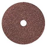 7'' x 7/8'' 24 Grit Aluminum Oxide Fiber Sanding Disc