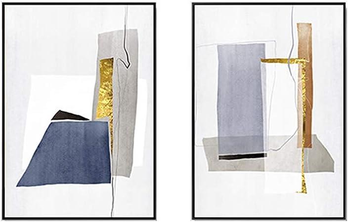 U Ben Cc906 Couleur Peinture Décorative Abstraite Séjour