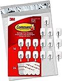 Command Small Wire Hooks, 16 Hooks, 24