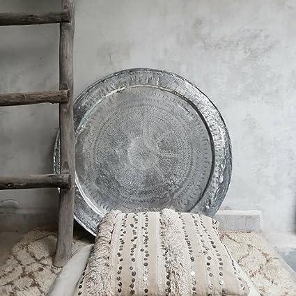 bandeja árabe marruecos, decoración árabe, bandeja vintage, artesanía marroquí, artesanía marruecos,