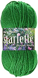 Mary Maxim Starlette Yarn, Grass Green