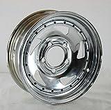 GBC Motorsports 13 x 4.5 Chrome Blade Trailer Wheel 5 on 4.50 Lug, 1,660 lb Load Capacity