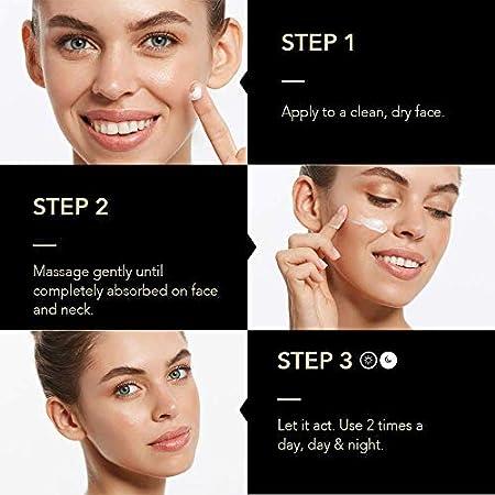 KPS VITAL 【PREMIUM】 TXA PLUS Crema Antiarrugas Mujer de Día y Noche | Cara Piel Grasa y Seca | Ácido Hialurónico | Antiarrugas | Antiedad | Antimanchas | Blanqueadora, 50 ml