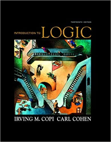 Amazon introduction to logic 13th edition 9780136141396 amazon introduction to logic 13th edition 9780136141396 irving m copi carl cohen books fandeluxe Choice Image