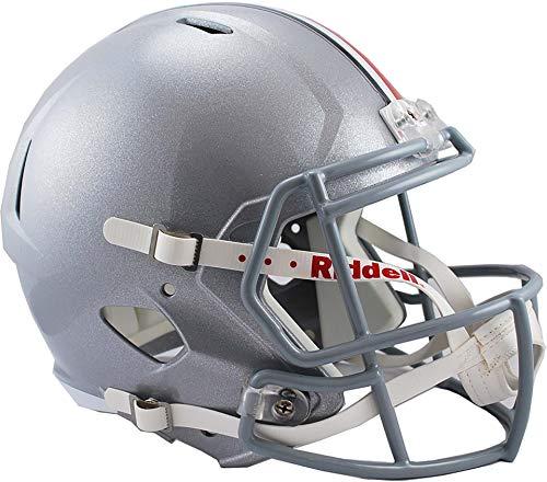 (Sports Memorabilia Riddell Ohio State Buckeyes Revolution Speed Full-Size Replica Football Helmet - College Replica Helmets)