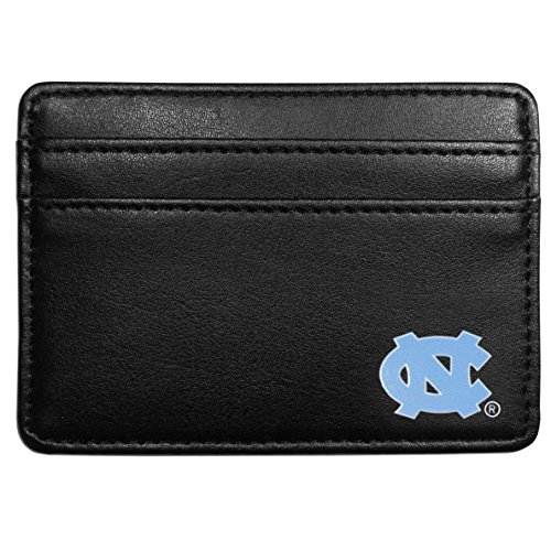 Siskiyou NCAA North Carolina Tar Heels Weekend Wallet, Black