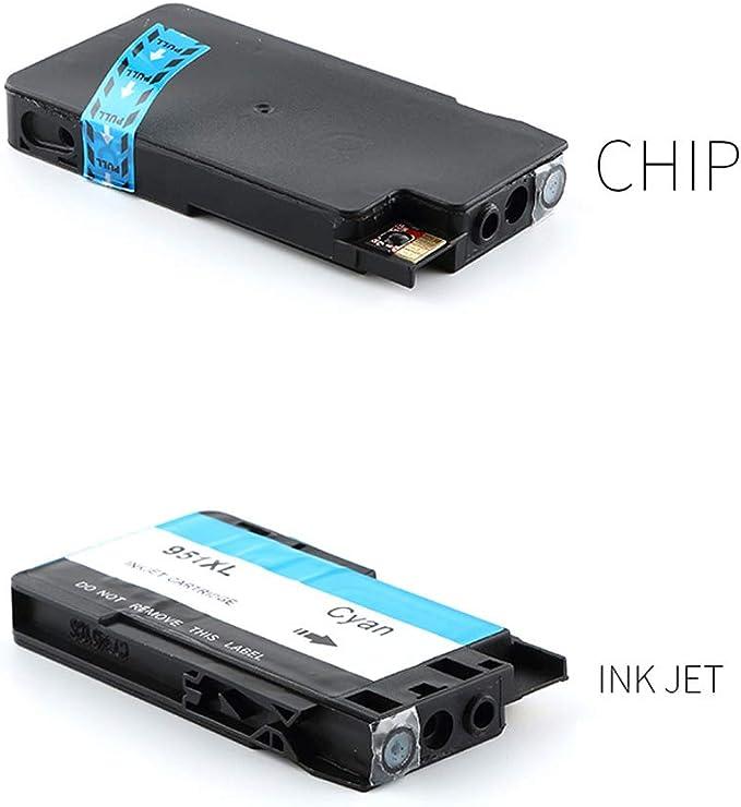 GYBN 711 Cartucho de Tinta para HP T520 Cartucho de Impresora en Color de Gran Capacidad Designjet T120 Cartucho CZ133A Plotter Ink-4-set: Amazon.es: Electrónica