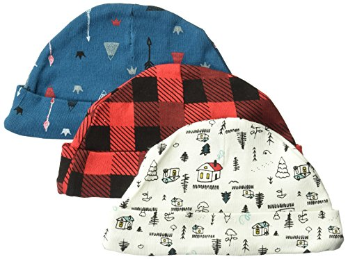 Rosie Pope Baby Boys Hats 3 Pack, Mountain Theme, One Size
