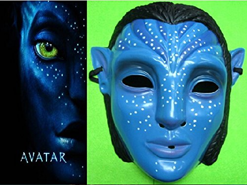 2015 - 2PCS Avatar Mask (One Size Fits All) for Children / Adult Male / Female Party / Halloween / carnival/ Movie (Avatar Masks)