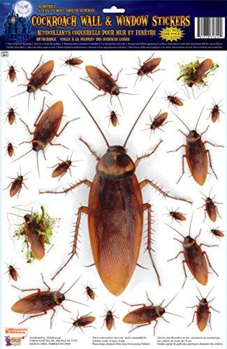 Forum Novelties Cockroach Window Stickers