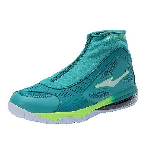 Erke Men's Air Retro Basketball Shoes Green/White 5111610...