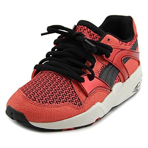 Puma Blaze Knit Women US 11.5 Red Sneakers