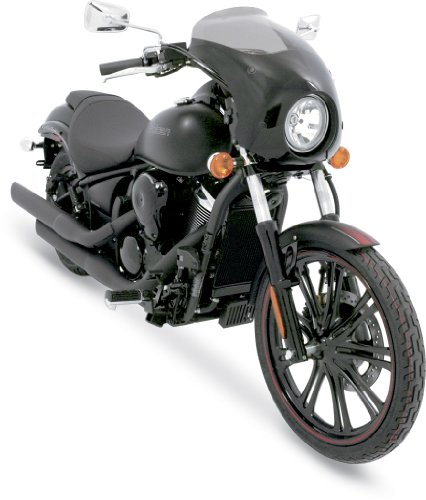 (Memphis Shades MEM7101 Bullet Fairing Fit (Memphis Shades for Honda VT750 Shadow Spirit Models 2001 - 2014 and Yamaha XVS V-Star Custom 1998 - 2015))