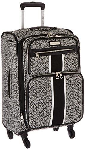 ninewest-naia-20-inch-expandable-spinner-black-white-one-size