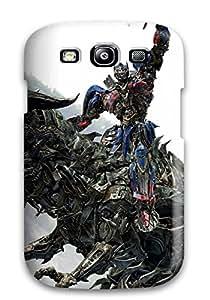 Melissa Fosco's Shop Hot Optimus Prime Riding Grimlock Fashion Tpu S3 Case Cover For Galaxy 5909809K47918341