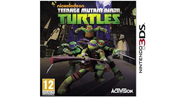 Amazon.com: Teenage Mutant Ninja Turtles – Nintendo 3DS ...