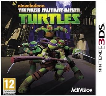 Teenage Mutant Ninja Turtles Nintendo 3ds Amazon Co Uk