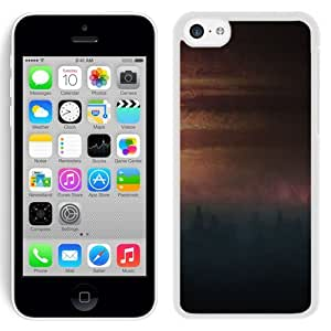 Customized Phone Case Design with Jupiter seen from Io iPhone 5C Wallpaper in White