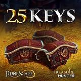 25 Treasure Hunter Keys: RuneScape 3 [Instant Access]