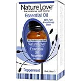 Nature Love Harmonious 100% Pure Well-Being Essential Oil Peppermint .34 Oz. Bottle