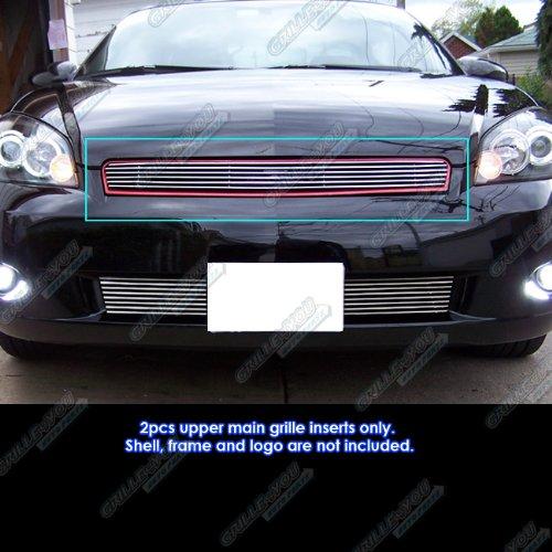 APS C65765A Polished Aluminum Billet Grille Bolt Over for select Chevrolet Impala Models ()