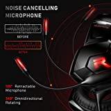 RUNMUS Gaming Headset Xbox One Headset PS4