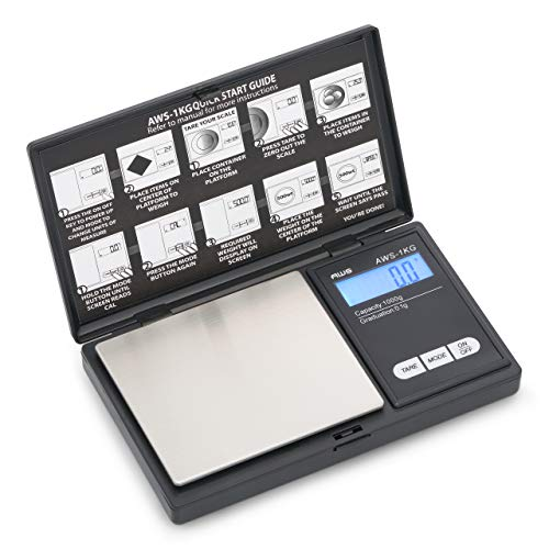 AWS Series Digital Pocket Weight Scale 1kg x
