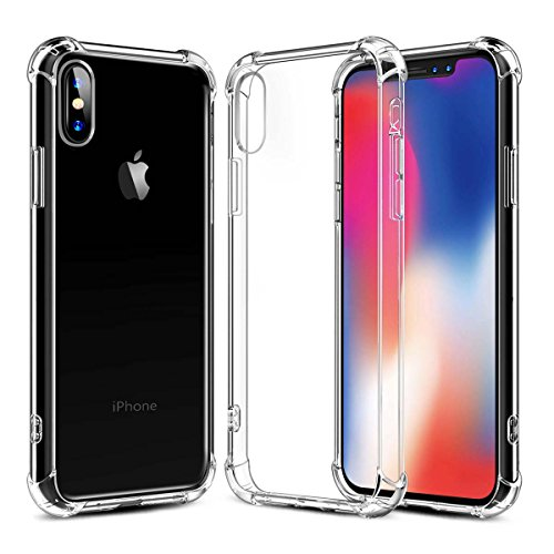 Phone Case for Phone X, Ultra Thin Clear Soft TPU, ,  Non-Sl