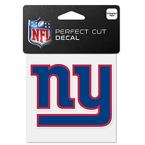 - WinCraft NFL New York Giants 63059011 Perfect Cut Color Decal, 4