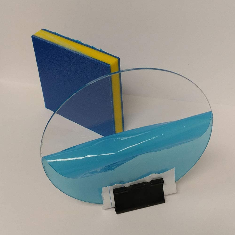 Glass Replacement Frame POP Displays and Signing 5 Inch Diameter, 0.040 Inch Thick SIBE-R PLASTIC SUPPLY PETG Clear Circle Round Disc Every Thickness and Diameter Available