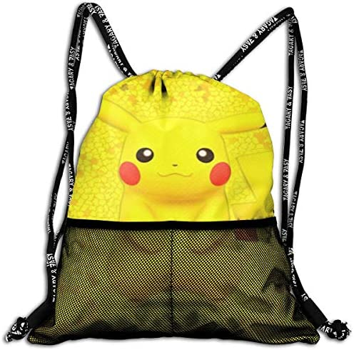 ポケットモンスター2(1) 人気 ナップサック 通勤 通学 マルチ バッグ 旅行 多機能 ナップサック 男女兼用 スイミングバッグ 巾着袋 登山 防水 軽量 バンドルポケッ