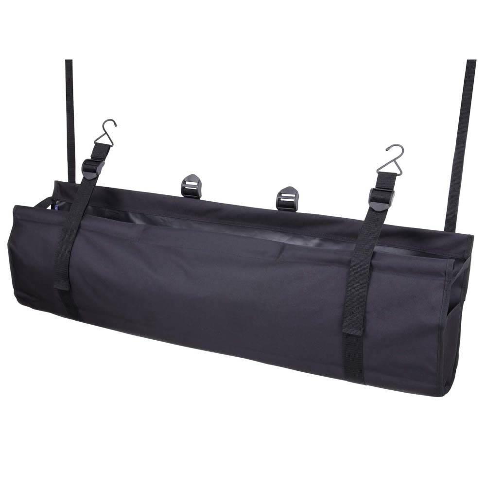ナポレックス 車用収納バッグ ラゲッジルームバッグ ブラック レジャー用品等のかさばる物に ミニバンやワゴンに最適 汎用 JK-69