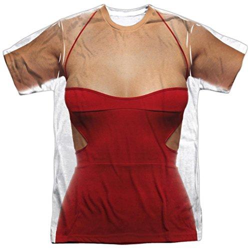 Battle Star Galactica- No.6 Costume Tee T-Shirt Size (Cylon Six Costume)