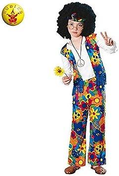 Rubies - Disfraz de hippie para niño, infantil 3-4 años (18663-S ...