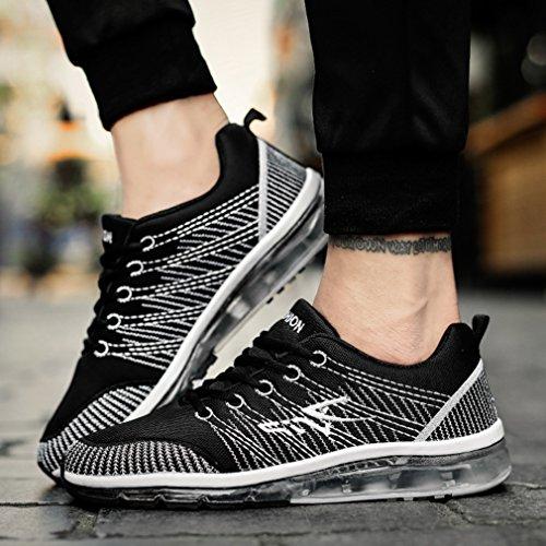 negro LFEU bajo adulto caño botas de Unisex qF4x8wC
