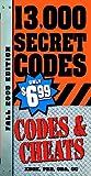 Codes and Cheats Fall, Prima Development, 0761551395