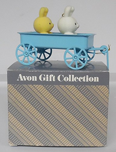 (Avon Spring Bunny Collection BUNNIES IN WAGON)