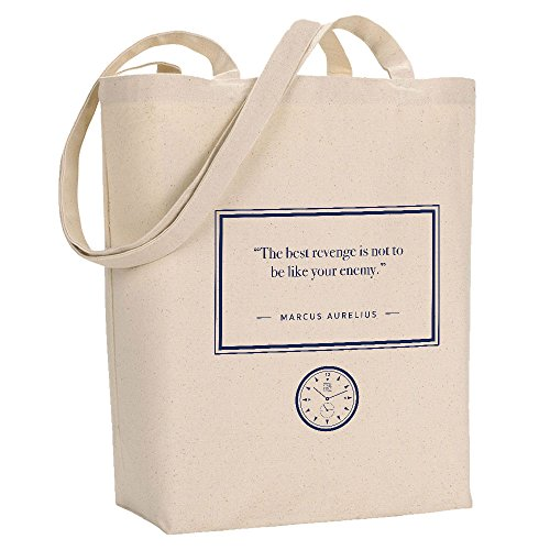 Quote Best Stoic Marcus Aurelius Revenge Tote Time Bag The nnCYaq