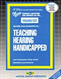 Teaching Hearing Handicapped, Rudman, Jack, 0837384389