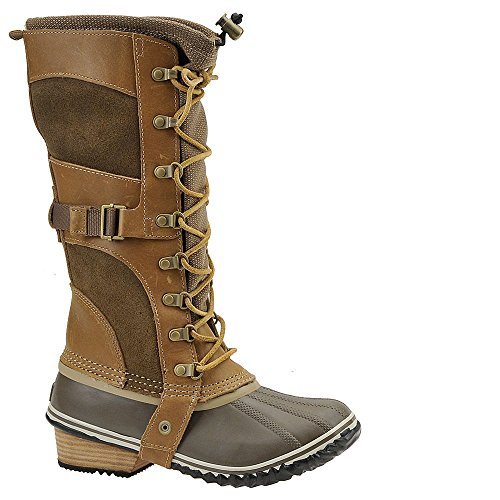 SOREL Women'S Conquest Carly Boot #2033-265 (6) British Tan