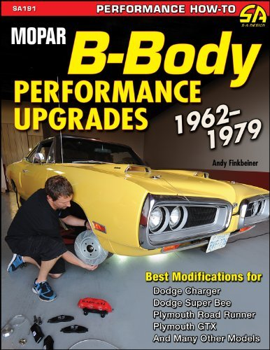[ Mopar B-Body Performance Upgrades 1962-79[ MOPAR B-BODY PERFORMANCE UPGRADES 1962-79 ] By Finkbeiner, Andrew ( Author )Jan-15-2012 Paperback
