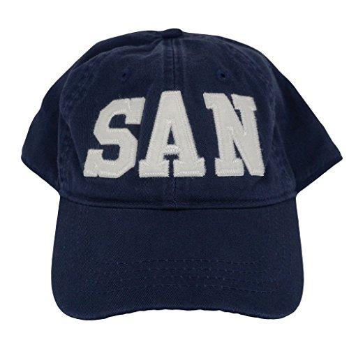 RespectTHISHouse SAN San Diego Airport Code Felt Logo Hat